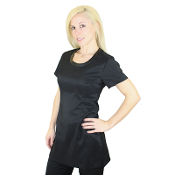Scoop Neck Tunic - Bleach Resistant