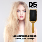 DS Ionic-Infused Bamboo Paddle Brush
